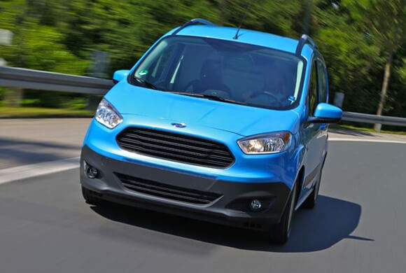 Ford Transit Courier Joins Transit Range with EcoBoost engines