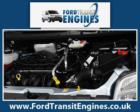 Engine For Ford Transit-Connect-Petrol-Van